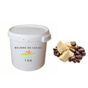 Beurre de Cacao 100% naturel – 100 grs & 1000 grs