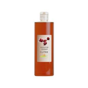 Huile végétale d'hibiscus-100 ml & 1000 ml