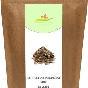 Feuilles de Kinkeliba Bio – 25 GRS