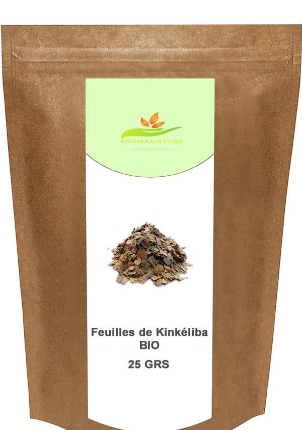 feuilles de kinkéliba bio