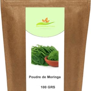 Poudre de feuilles de Moringa Oleifera