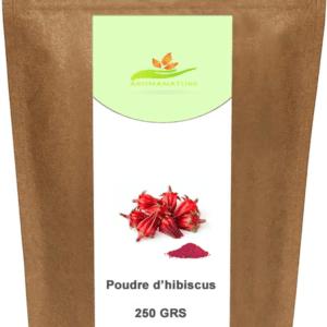 Poudre de d'hibiscus – Bissap – Karkadé 250 GRS