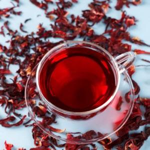 Fleurs d'hibiscus-Karkadé-100 GRS