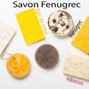Savon de Fenugrec 100% naturel – 100 g