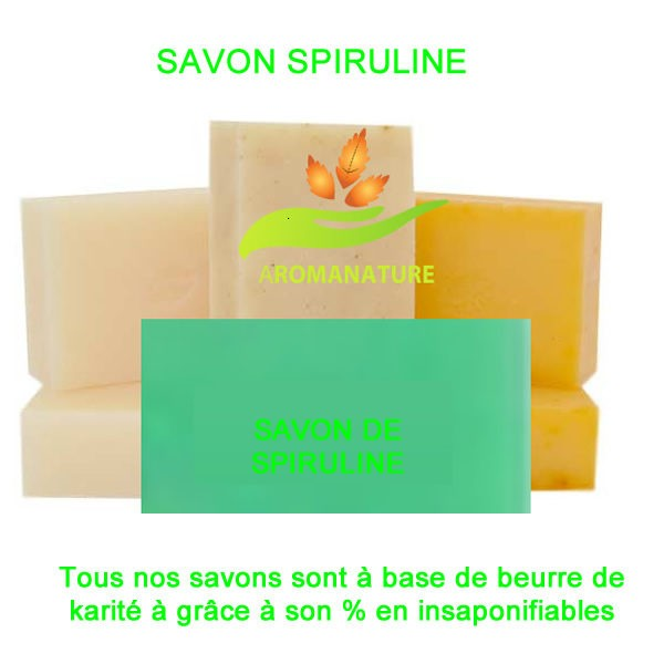 SAVON-SPIRULINE