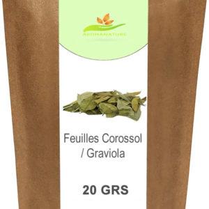 Feuilles de corossol ou Graviola- 20 GRS
