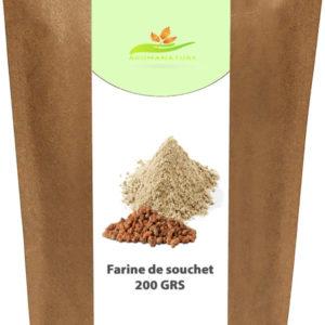 Farine de souchet – La noix tigrée – 200 GRS