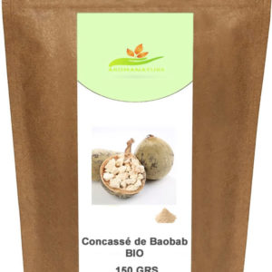 Concassé de Baobab Bio-Powerfoods -150 GRS