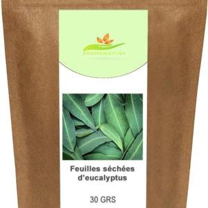 Feuilles d'eucalyptus séchées – 30 grs