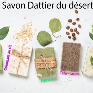 Savon de dattier du désert  – 100 % naturel
