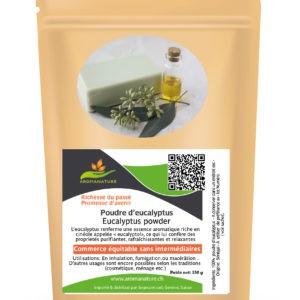 Poudre de feuilles d'eucalyptus – 150 grs