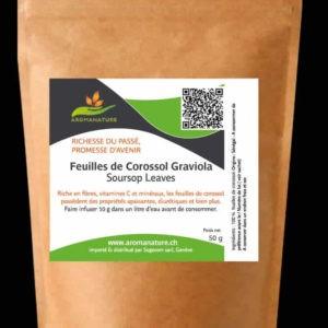 Feuilles de corossol ou Graviola- 50 GRS