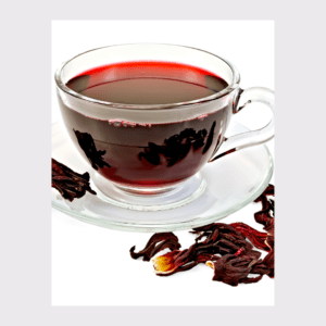 Infusion de plantes – Hibiscus-menthe – 1 L