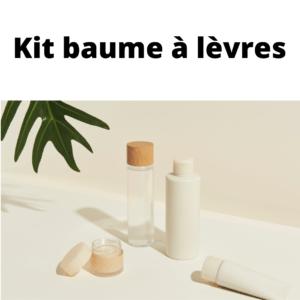 KIT DIY baume à lèvres