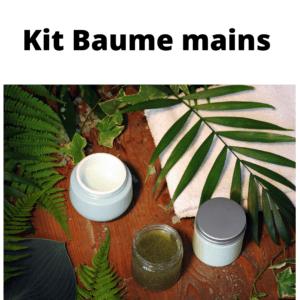 KIT DIY  Baume pour les mains