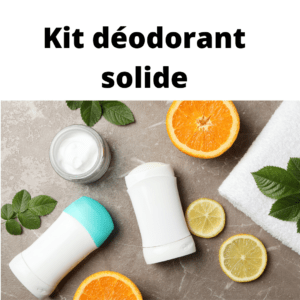 KIT DIY Déodorant solide