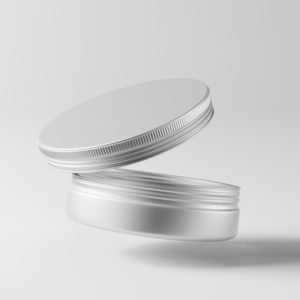 Pot en aluminium avec couvercle – 100 ml